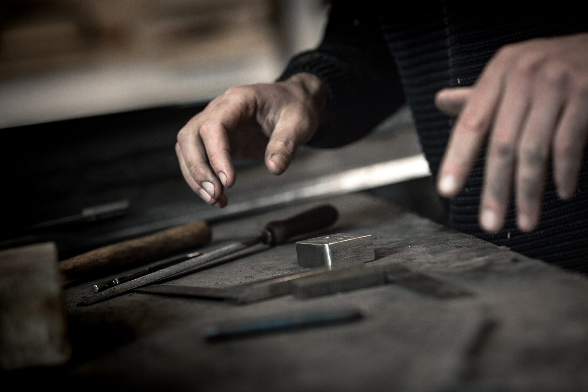 Hands and tools