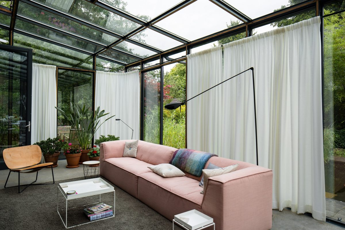 Steel Sunroom